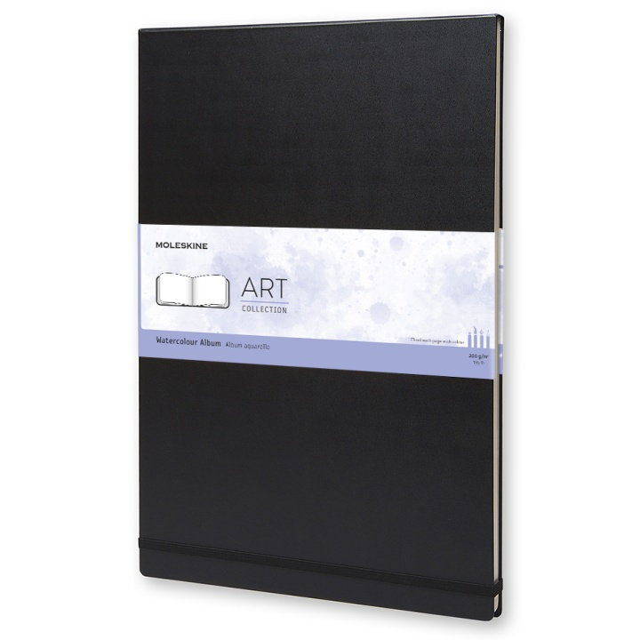 Watercolor Album A3 Black