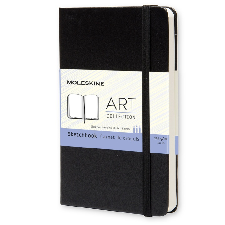 Sketchbook Pocket Black