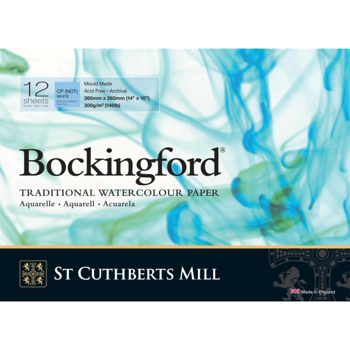 Bockingford Akvarellblock 360x260mm 300g CP/NOT