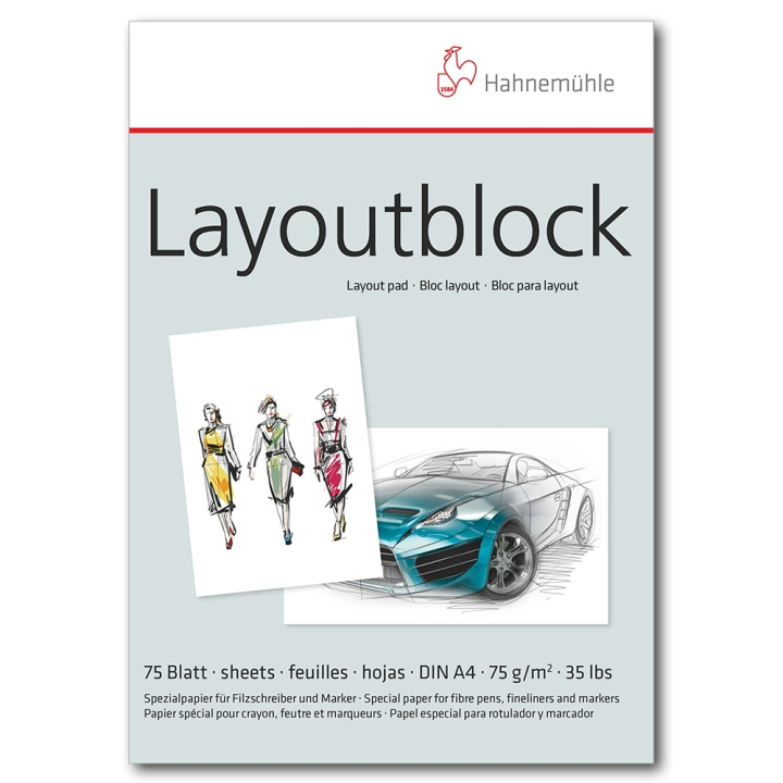 Layoutblock A4