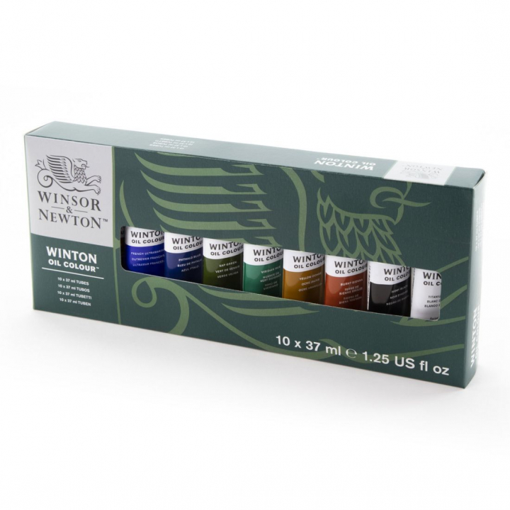 Winton Oljefärg Tub 37 ml 10-set