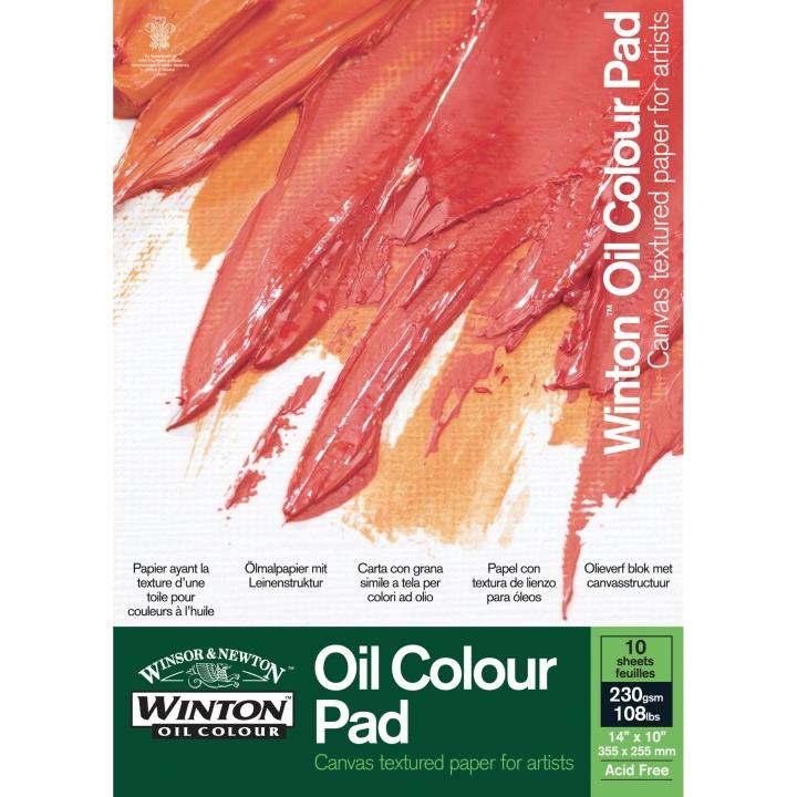 Winton Oljemålningsblock 230g A4