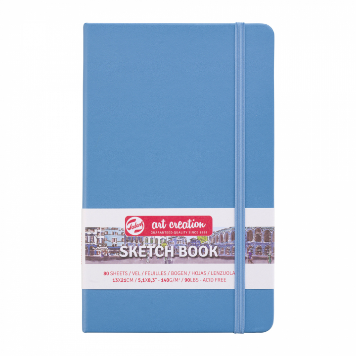 Art Creation Sketchbook Large Lake Blue