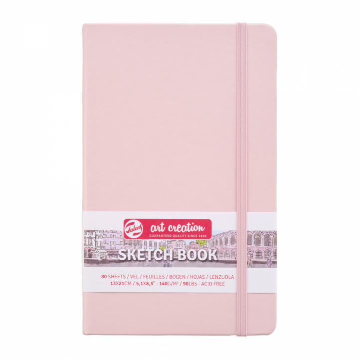 Art Creation Sketchbook Large Pastel Pink