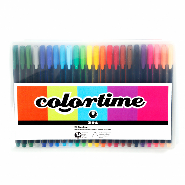 Fineliner Color 24-set i gruppen Pennor / Skriva / Fineliners hos Pen Store (111854)
