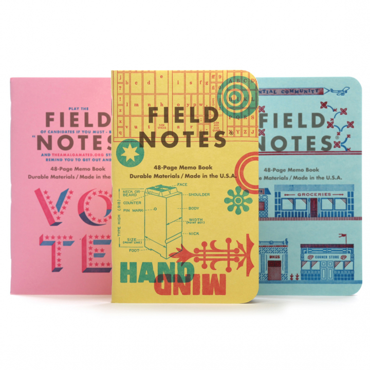 United States of Letterpress C 3-Pack