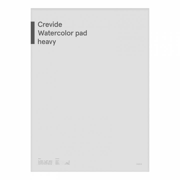 Watercolor pad A3 300g