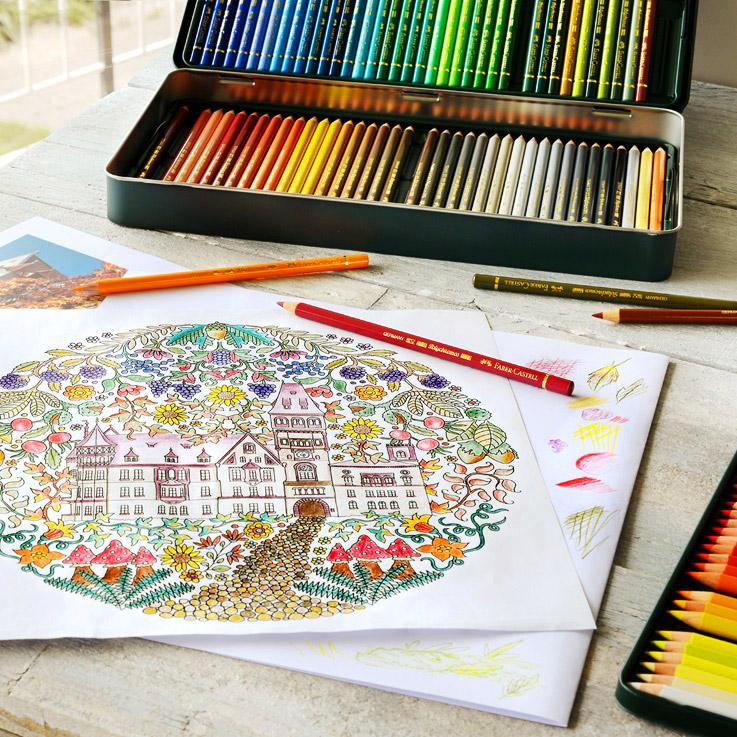 färgpennor till målarböcker