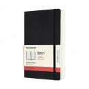 Kalender 2021 18M Soft Cover Daily Notebook Large Black