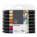 ProMarker 12-set + blender (Manga set 1)