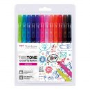 TwinTone Marker Bright 12-pack