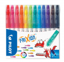 Frixion Colors 12-pack Raderbara Tuschpennor (3 år+)