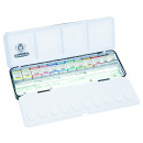 Horadam Aquarell Metal 12-set + 12 tomma