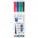 4-pack Lumocolor Whiteboard Medium