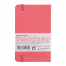 Art Creation Sketchbook Pocket Coral Red