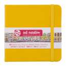 Art Creation Sketchbook Golden Yellow 12x12 cm