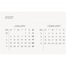 Kalender 2021 12M Weekly Planner A5 Emerald